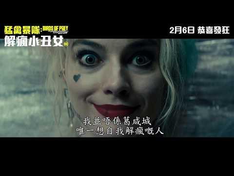 猛禽暴隊:解瘋小丑女電影海報
