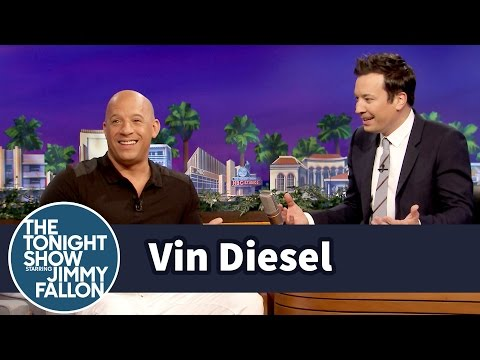 Vin Diesel Is Afraid of Roller Coasters (видео)