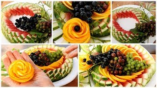 Super Fruit Platter Decoration Ideas - Easy Ideas Food Art