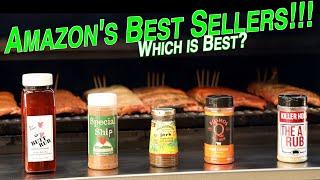 Rib Rub Throwdown | Comparing Top 5 Best Selling Rubs On Amazon