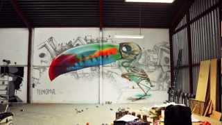 'Twocan' mural