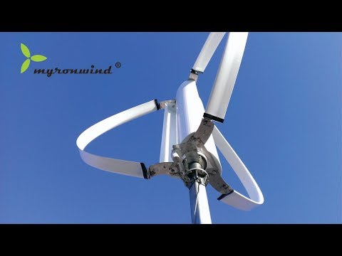 Full Time RV Living 1000 Watts Wind Turbine Power With 1200 Watt