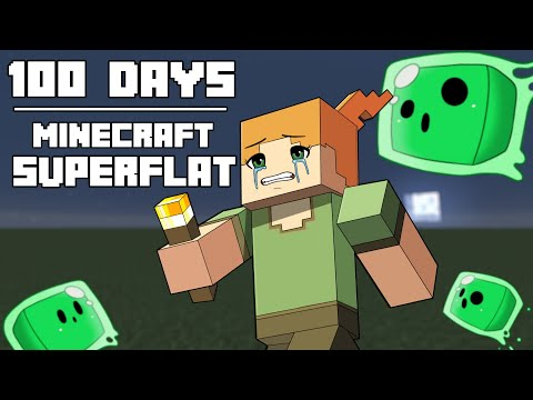 Download 100 Days - [Minecraft Superflat] HD Mp4 3GP Video and MP3
