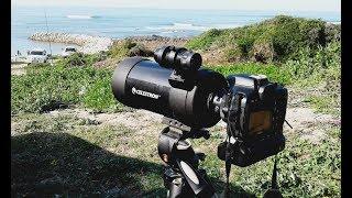 Celestron C90 + DSLR digiscoping