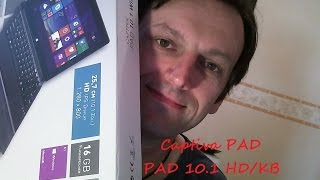 "[Captiva PAD 10.1 Windows HD/KB] : ...""Tablet Review""..."