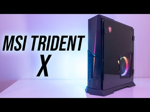 MSI Trident X Gaming PC Review