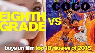 Top 10 Movies of 2018 | Eighth Grade vs Coco