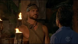Survivor: David vs Goliath - John blindsided in a CRAZY tribal council