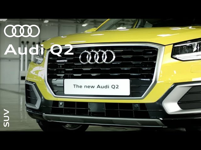 The new Audi Q2: The stylish, distinctive, practical SUV