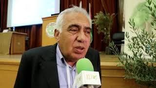 فارس الجابي يتحدث عن المؤتمر الفلسطيني الرابع للزيتون في خضوري