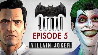 Batman: The Enemy Within - Episode 5 - Same Stitch (Villain Joker - Full Episode)