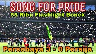 Merinding..!! 55 Ribu Bonek Nyanyikan Song For Pride Akhir Laga Persebaya Vs Persija