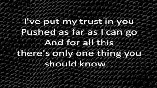 Linkin Park - In The End Lyrics HQ