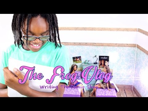 The Frog Vlog:  Behind the Scenes | Writing The Darbie Show