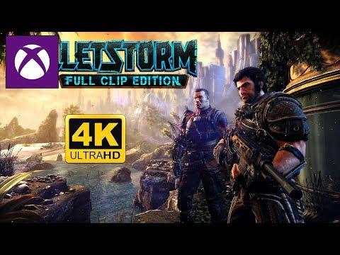 Bulletstorm en 4K 60FPS !   Xbox One X Enhanced Gameplay   Difficile mode