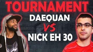 DAEQUAN VS NICK EH 30, TOURNAMENT! | HIGH KILL FUNNY GAME | WON 1ST PLACE -(Fortnite Battle Royale)