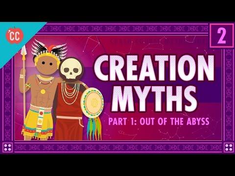 Stvoření světa z nicoty - Světová mytologie