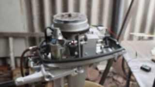 Как установить стартер от нептуна на ветерок 8 своими руками