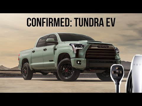 The New Toyota Tundra Will Come With A FULL EV Option