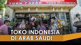 Menjamur Toko Musiman di Sekitaran Hotel Tempat Jemaah Haji Indonesia Menginap