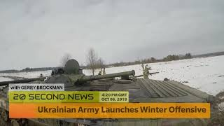 Ukrainian Army Launches Winter Offensive in Donetsk - Russia Breaking NEWS Today