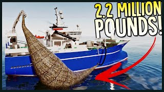 Catching 2,200,000 Pounds Of Fish In One Day & Finding Sunken Treasure! - Fishing North Atlantic