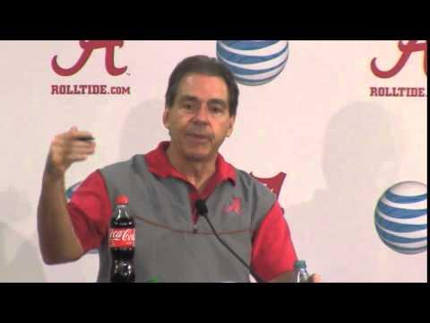 Nick Saban Press Conference Video, Dec. 16, 2014
