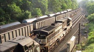 Intense 3-way Train Meet Cassandra, PA 06/27/2016