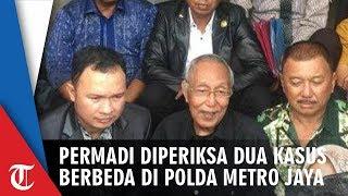 Permadi Jalani Pemeriksaan Dua Kasus Sekaligus di Polda Metro Jaya