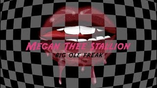 Megan Thee Stallion   Big Ole Freak [Official Lyric Video]