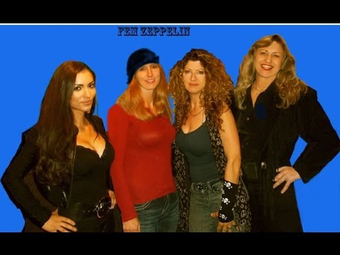 "Fem Zeppelin ""Rock N' Roll ~Newly uncovered live footage at the Malibu Inn!"