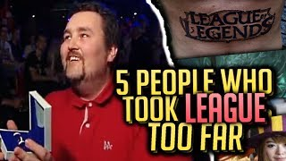 5 Times People Took LEAGUE OF LEGENDS Too Far