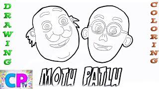 Drawing For Kids Patlu Form Motu Patlu Free Video Search Site
