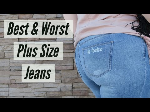 Best & Worst Plus Size Jeans & Jeggings Review Try On Haul | Plus Size Fashion