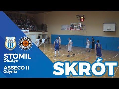 Skrót meczu Stomil Olsztyn – Asseco AMW II Gdynia 93:88