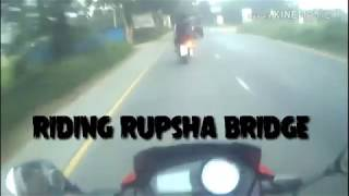 preview picture of video 'RIDING RUPSHA BRIDGE IN KHULNA/THF BD'