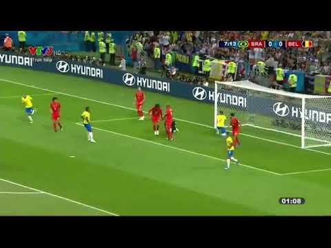 Xem lại trận đấu brazil vs bỉ bình luận tiếng việt ( world cup 2018 )