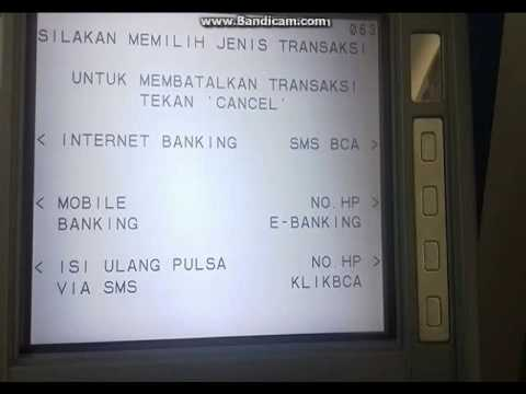 Video Cara daftar internet banking Bca