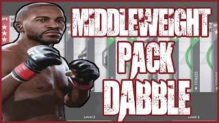 MIDDLEWEIGHT PACK DABBLE!! - UFC 2 Pack Opening