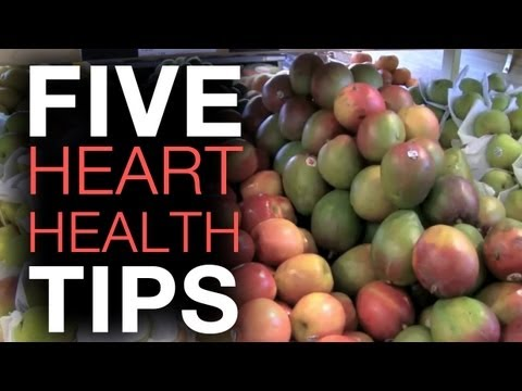 Top 5 better health tips for healthy Heart