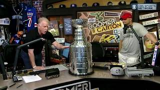 Boomer and Carton: Stanley Cup for the day