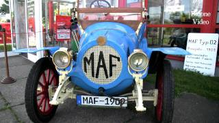 preview picture of video 'Vintage Cars: Via Regia Classic - the 1910 MAF - Oldtimer'