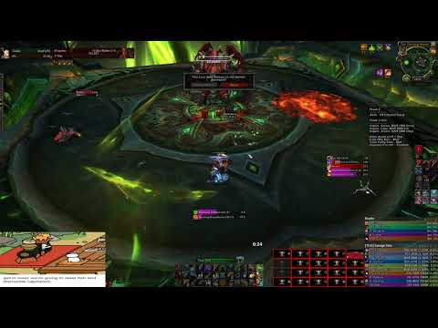 Blood DK solos Mythic Kil'jaeden for Over a Minute & Scores the Win