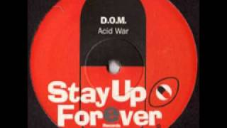 D.O.M. -- Acid War / Z-Head-B-Z-Head