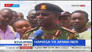 Walinda usalama waungana kudumisha usalama kaunti ya Nakuru