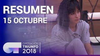 Resumen diario OT 2018 | 15 OCTUBRE
