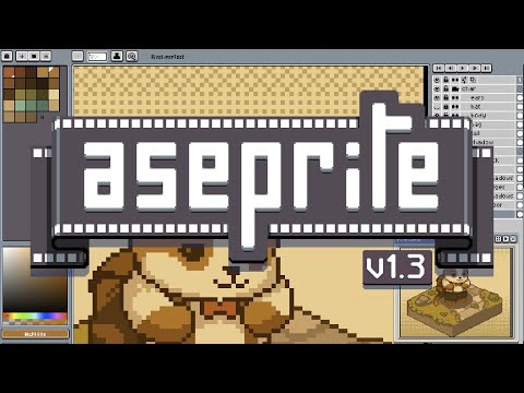 Aseprite v1.3 Trailer