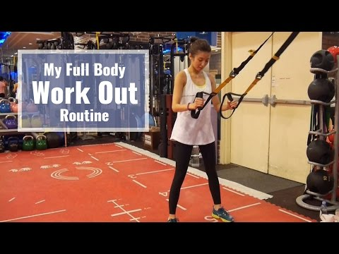 My Whole Body Work Out Routine!