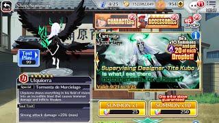 Bleach Brave Souls: Getsuga Murcielago Summons 2250 orbs(buying for ulq)(sorry, no audio)