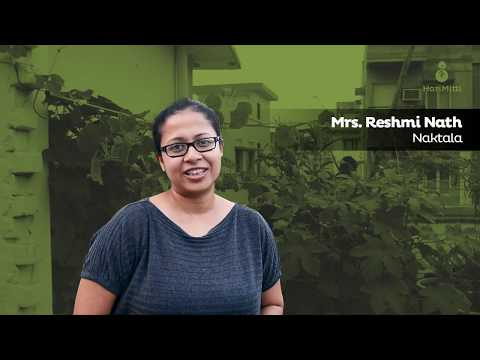 Listen Mrs.Reshmi Nath share her urban farming stories.